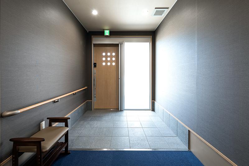 グループホームの玄関