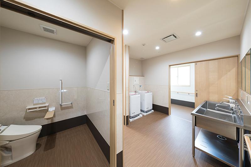 グループホームのトイレ・水回り